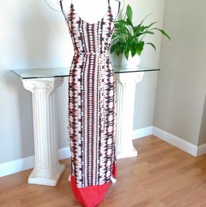 NEW Felicity & Coco Printed Maxi Dress